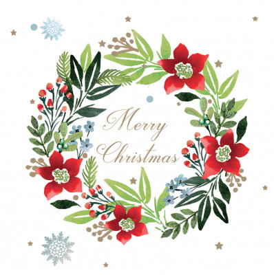 Christmas Wreath - Christmas Cards